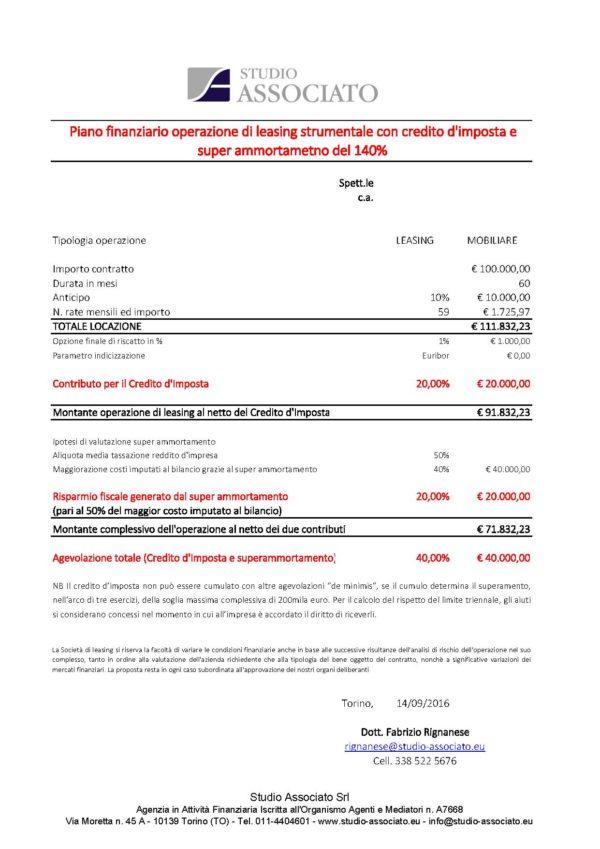 Credito d'imposta per investimenti strumentali nel Mezzogiorno: agevolabile anche il leasing e cumulabile con il super ammortamento