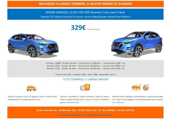 Noleggio a lungo termine: promo NISSAN QASHQAI 1.6 dCi 130 2WD Business